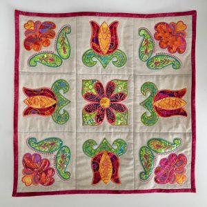 Tulip wall quilt design