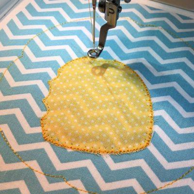 decorative applique stitch