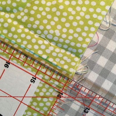 """Fold line marked 1/2"""" from raw edge"""