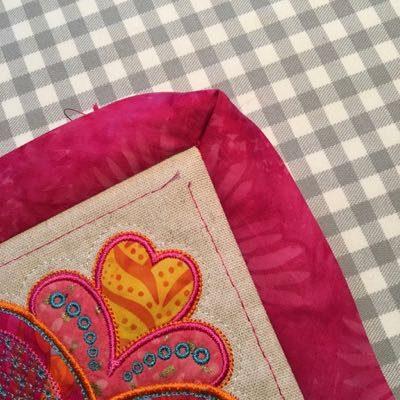 Fold binding to wrong side