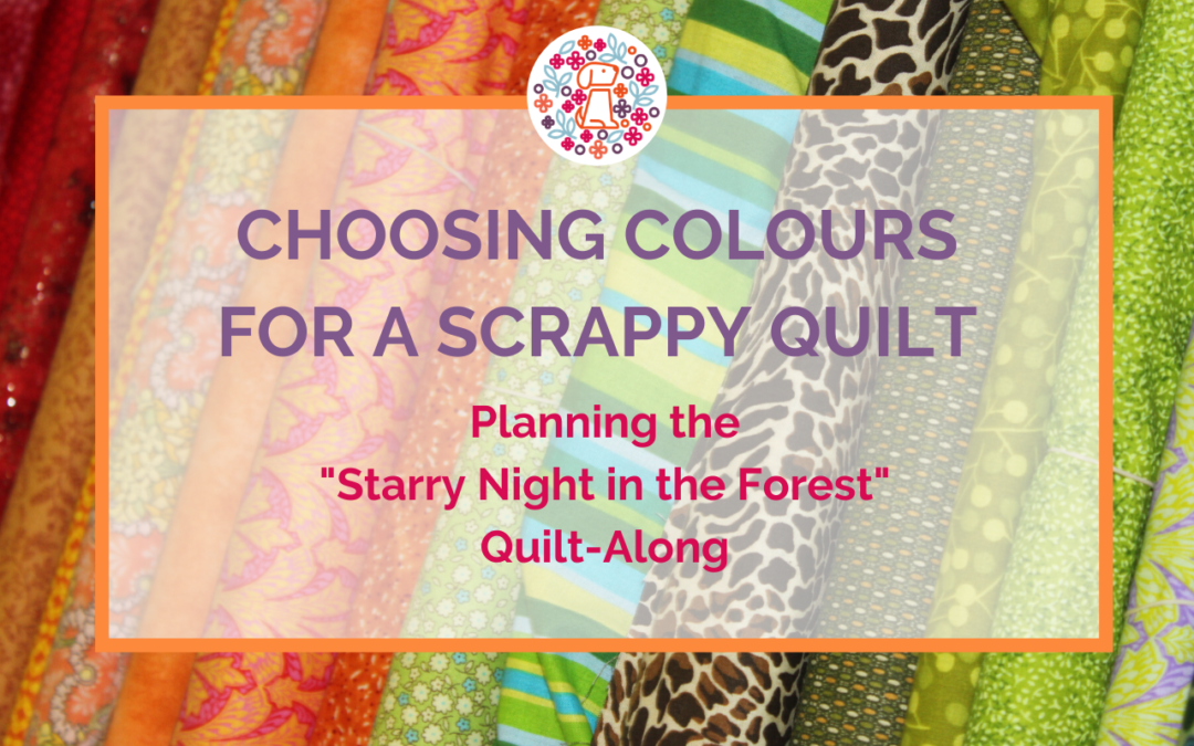 Choosing colours for a scrappy quilt