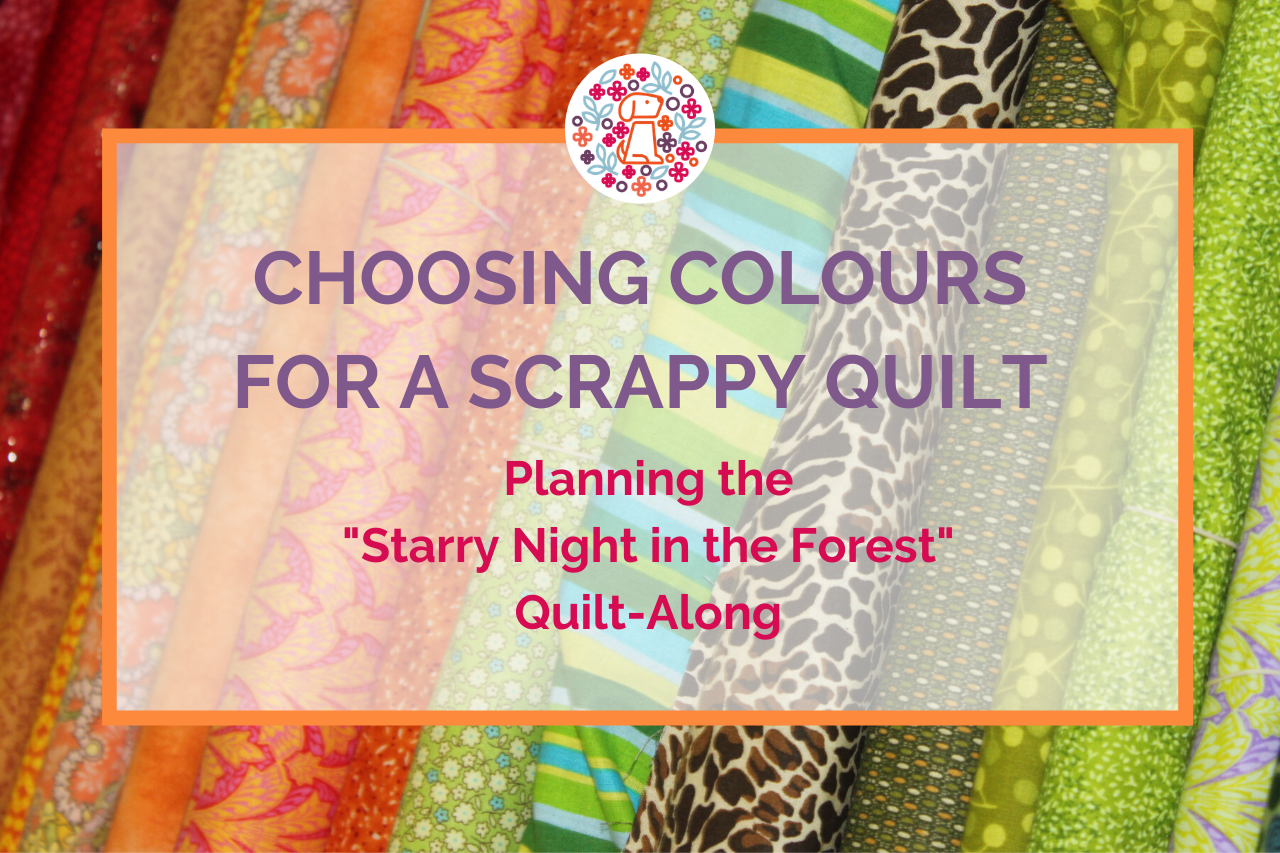 Choosing fabrics for a scrappy quilt