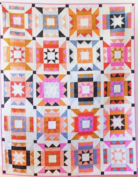 Nova Star quilt by Then Came June