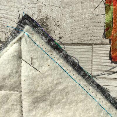 quilt block seam