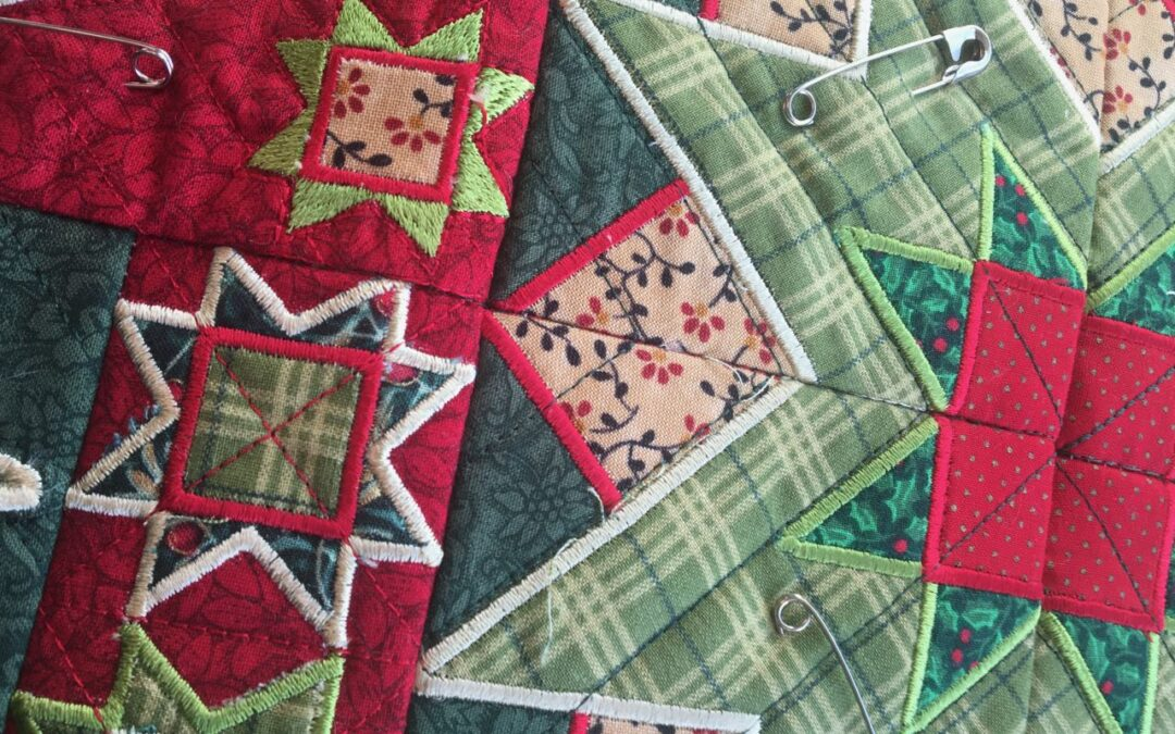 How to add a backing to your in-the-hoop quilt