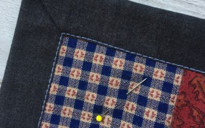 How to add a self-binding to your quilt